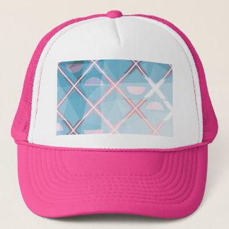 Abstract triangulate XOX Design Trucker Hat