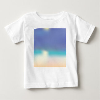 Abstract Tropical beach Baby T-Shirt