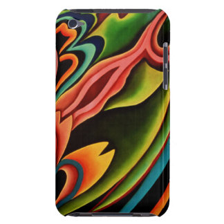 Abstract Tropical Case-Mate iPod Touch iPod Case-Mate Case