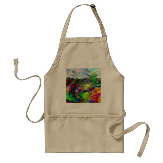 Abstract Tropical Fantasy Standard Apron