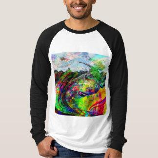 Abstract Tropical Fantasy T-Shirt
