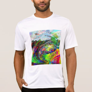 Abstract Tropical Fantasy T-Shirt
