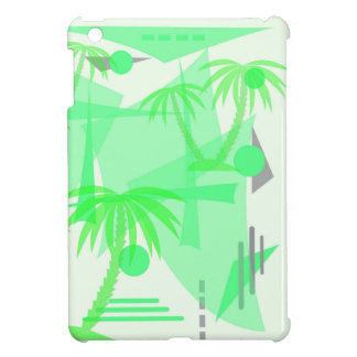 abstract tropical palm texture cover for the iPad mini