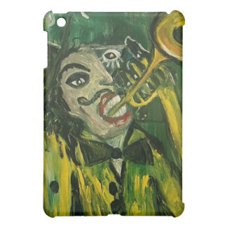 Abstract Trumpet Player iPad Mini Cases