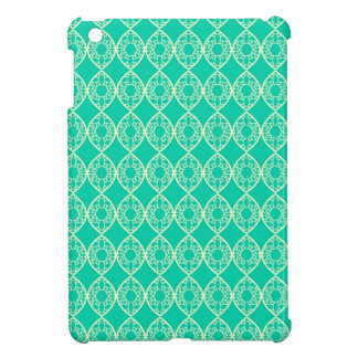 Abstract turquoise iPad mini covers