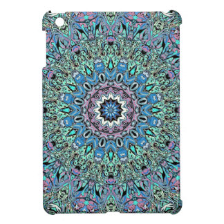 Abstract Turquoise Mandala Cover For The iPad Mini