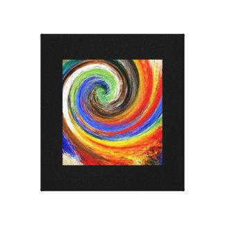 Abstract Twirl Canvas Print