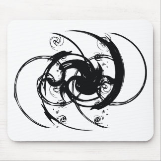 Abstract Twist Mouse Pad