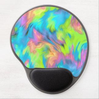 Abstract Tye Dye Pattern Gel Mouse Pad