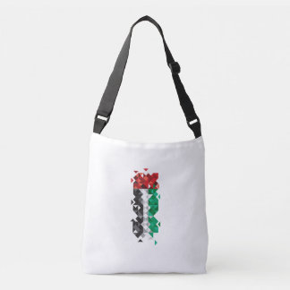 Abstract UAE Flag, United Arab Emirates Bag