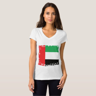 Abstract UAE Flag, United Arab Emirates Shirt