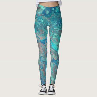 Abstract Underwater Leggings