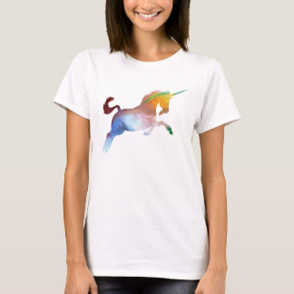 Abstract Unicorn silhouette T-Shirt