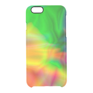 Abstract unique colorful shine clear iPhone 6/6S case