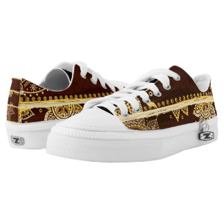 Abstract Unique Low Tops