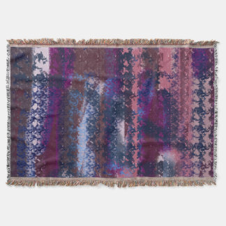 abstract universe throw blanket