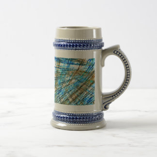 Abstract Unrest Coffee Mugs