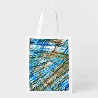 Abstract Unrest Reusable Grocery Bag