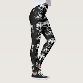 Abstract Vampire Leggings