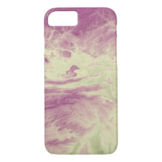 Abstract Variations- Arkansas- Green to Purple iPhone 8/7 Case