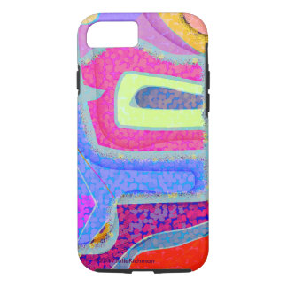Abstract Variety Jay iPhone 7 Case