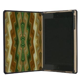 Abstract Vertical Striped Pattern iPad Mini Retina Case