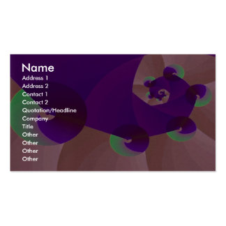 Abstract Very abstract Business Card Templates