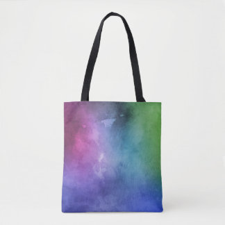 Abstract Vibrant colorful Tote by ozias