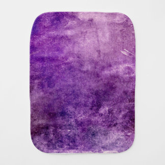 Abstract violet burp cloth