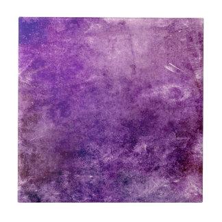 Abstract violet ceramic tile