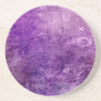 Abstract violet coaster