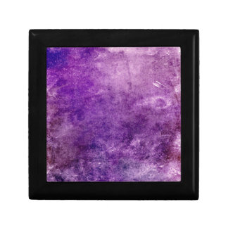 Abstract violet gift box