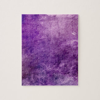 Abstract violet jigsaw puzzle