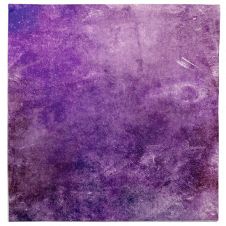 Abstract violet napkin