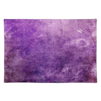 Abstract violet placemat
