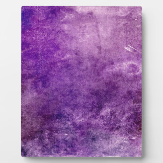 Abstract violet plaque
