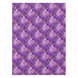 Abstract violet tablecloth