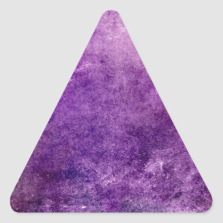 Abstract violet triangle sticker