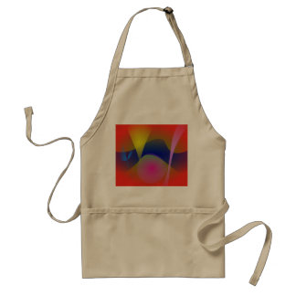 Abstract Volcano Aprons