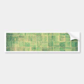 Abstract wall bumper sticker