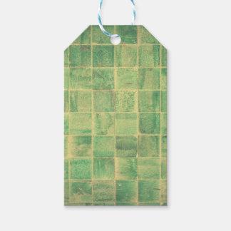 Abstract wall gift tags