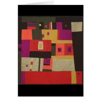Abstract Wall Hanging Card