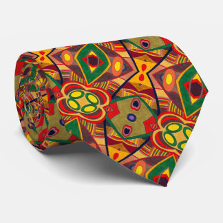Abstract Warm Autumn - Tie - Necktie