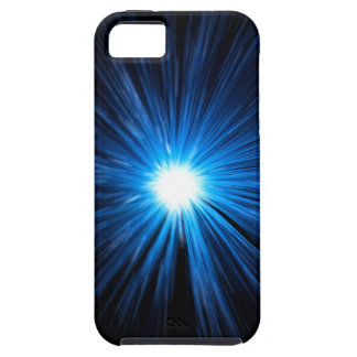 Abstract warp speed. tough iPhone 5 case