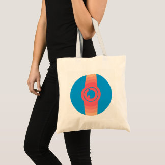 Abstract Watch Tote Bag