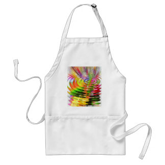 Abstract Water Color Ripples Aprons