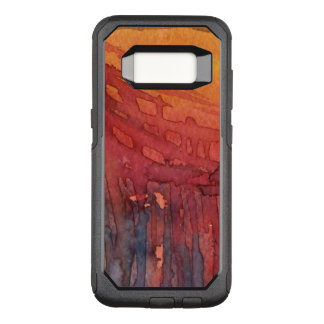 Abstract watercolor 3 OtterBox commuter samsung galaxy s8 case