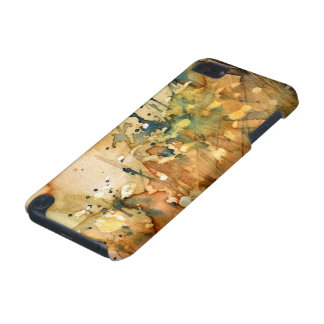 Abstract watercolor and old background iPod touch 5G covers