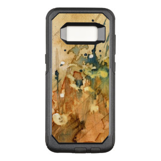 Abstract watercolor and old background OtterBox commuter samsung galaxy s8 case