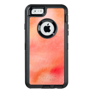 Abstract Watercolor Background - Orange OtterBox iPhone 6/6s Case